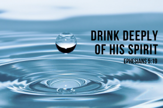 He alone quenches our thirst!